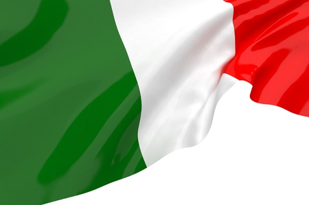 flag of italy: Vector Flags of Italy