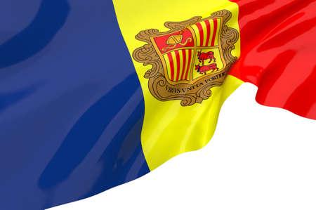 andorra: Vector Flags of  andorra