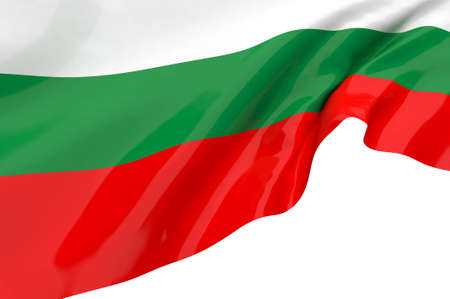 Vector Flags of  Bulgaria photo