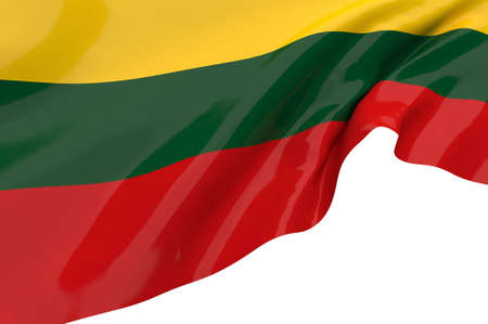 lithuania: Vector Flags of Lithuania