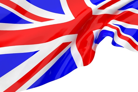 Vector Flags of United Kingdom Stock Photo