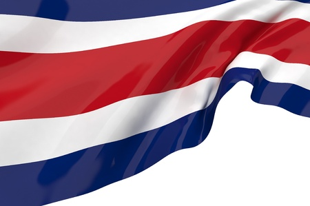 Vector Flags of Costa Rica Stock Photo - 12630470