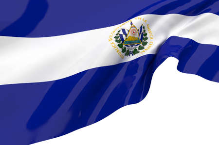 el salvador: Vector Flags of El Salvador Stock Photo
