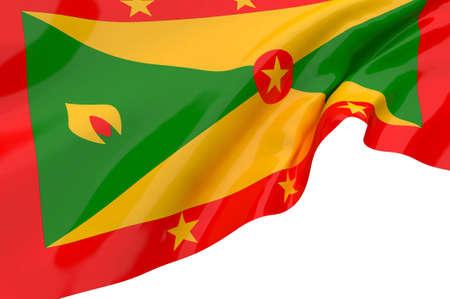 grenada: Vector Flags of Grenada