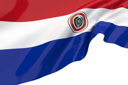 Vector Flags of Paraguay photo