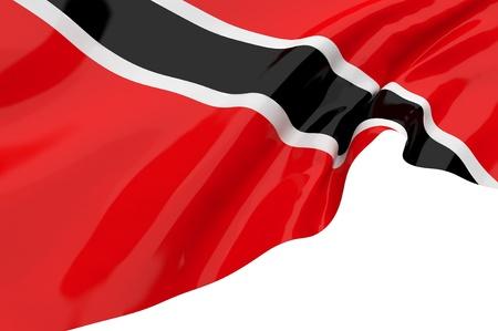 trinidad: Vector Flags of Trinidad and Tobago Stock Photo