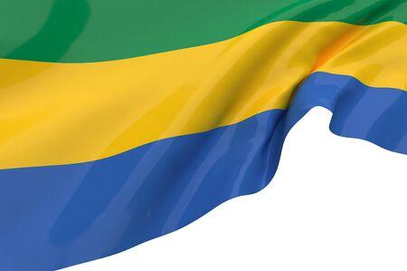 gabon: Flags of Gabon