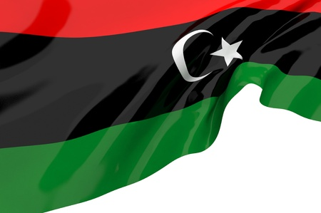Flags of Libya photo