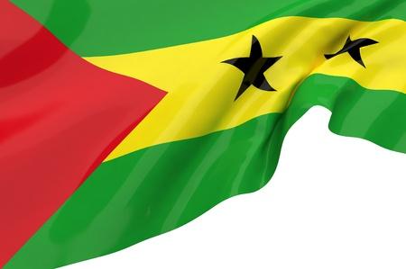 tome: Flags of Sao Tome Principe