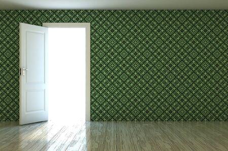 Empty room photo