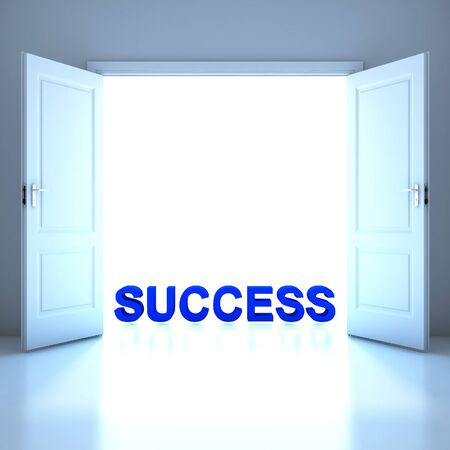 Success word conceptual in the future photo