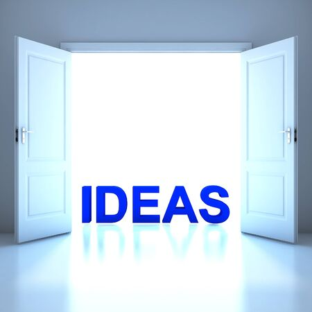 Ideas word conceptual in the future