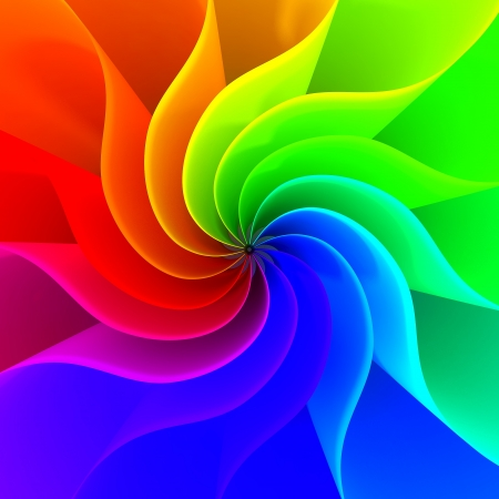 Colorful abstract lines for background Stock Photo - 14372811