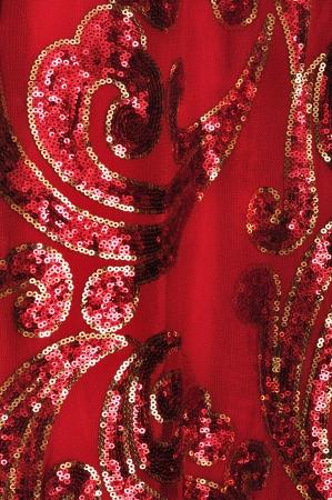 Chinese texture silk photo