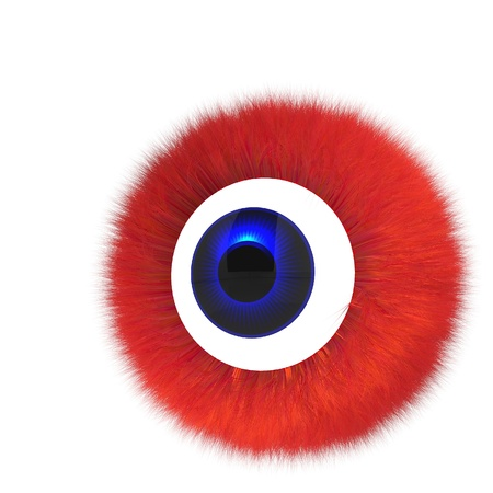 Single eye monster photo