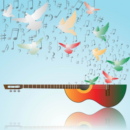 love music: Music of peace