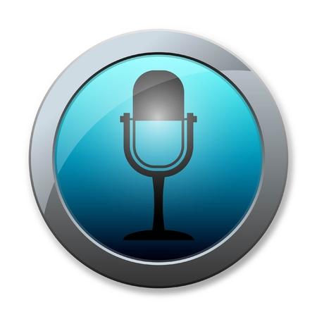 meridiano: Botton icono de negocios en fondo blanco