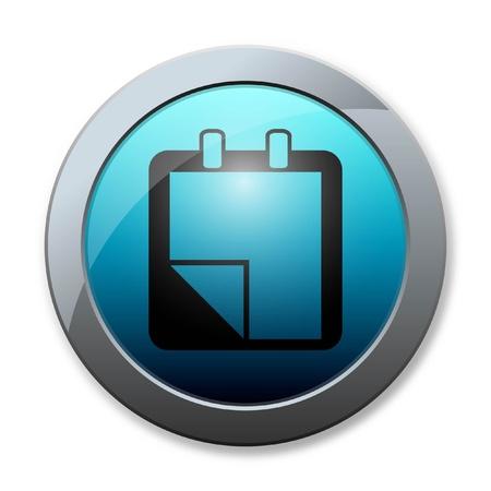 Botton icon business on white background Stock Photo - 16970794