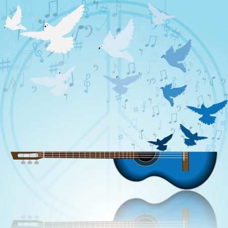 Music of peace photo