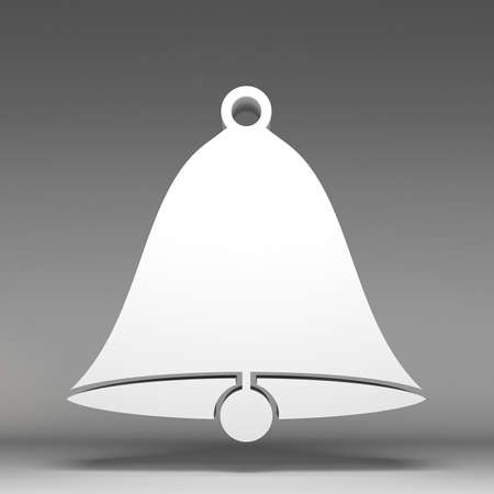 3d bell icon photo