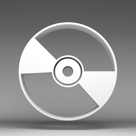 3d disc icon photo