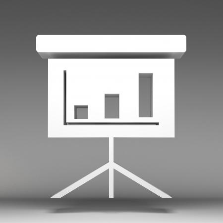 presentation screen: 3d Presentation Screen icon