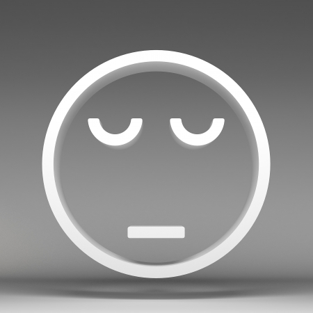 optimist: 3d of characters emoticons Stock Photo