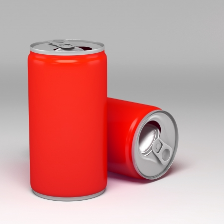 Metal Aluminum Beverage Drink Can photo