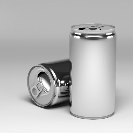 Metal Aluminum Beverage Drink Can photo