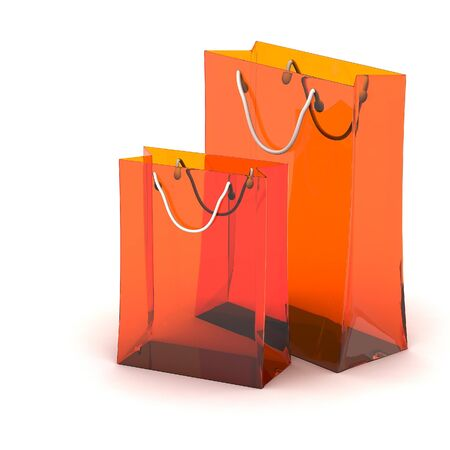 3d shopping bag photo