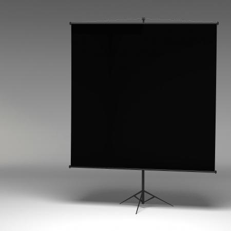 3d Blank Whiteboard photo