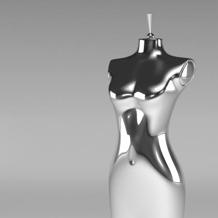 mannequin: 3D mannequin de mode f�minine Banque d'images