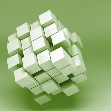 3d illustration basic geometric shapes illustration