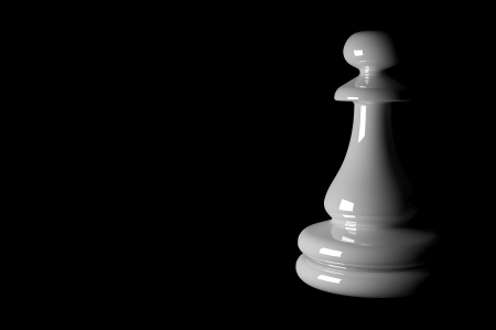 3d chess pieces photo