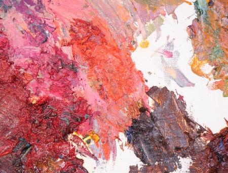 brush stroke: Brush stroke texture oil color