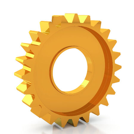stagnation: 3d rendering Gears Background