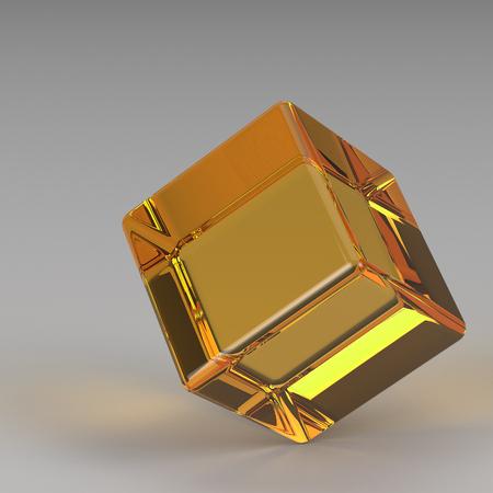 3d rendering  geometric shapes photo