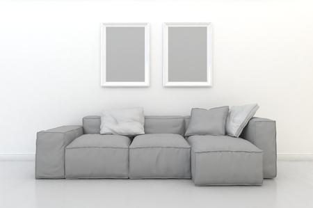 3d rendering interior scene