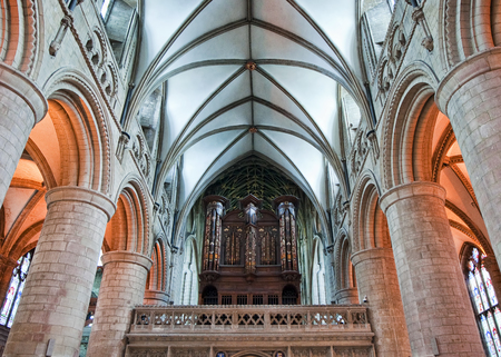 sanctity: Organ at Gloucester Cathedral