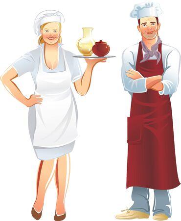 waitresses: cook