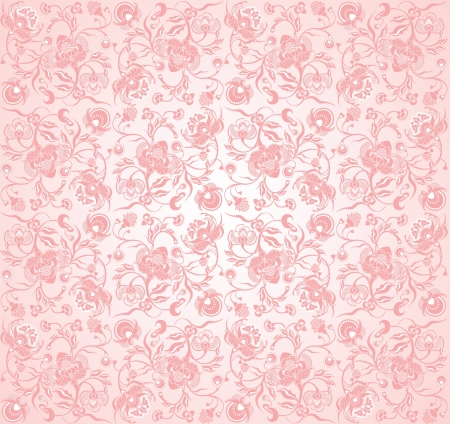 pinky: floral design pinky Illustration