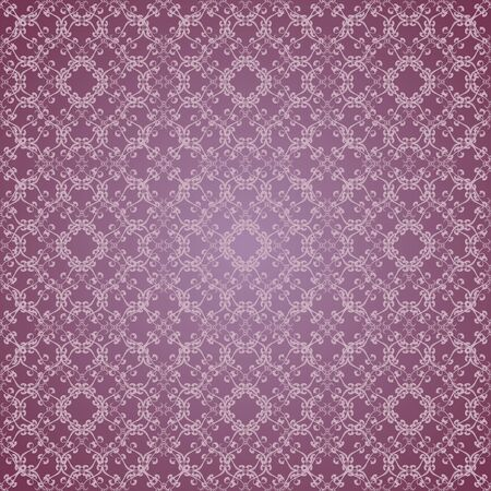 floral design lilac seamless Vector