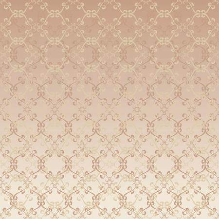 floral design beige Vector