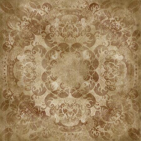 textil: floral design textil old