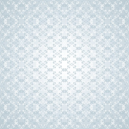 floral design blue-grey background Vector