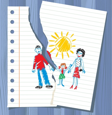 parents and children: children Illustration