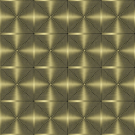 metallic pattern on dark background, seamless Vector