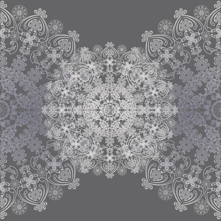 ight: floral design grey and white ,lacy