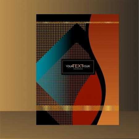 abstract ontwerp bookcover, designelement