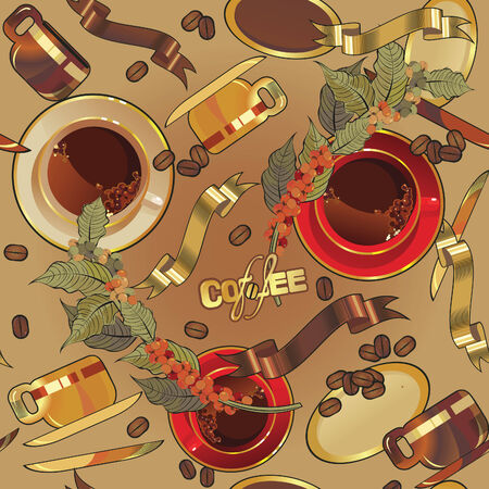 fond caf�: fond du caf� transparente